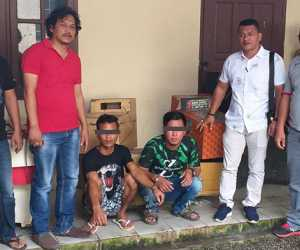 Delapan Unit Mesin Jackpot Disita Polres Agara