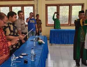 Asisten I Setdakab Abdya Lantik Pj Keuchik Gampong Krueng Panto