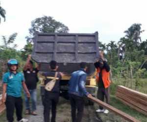 Tim BPKH Sita Kayu Olahan Jenis Meuranti dan Seumatok di Nagan Raya