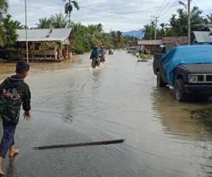 Sejumlah Desa di Nagan Raya Tergenang Banjir