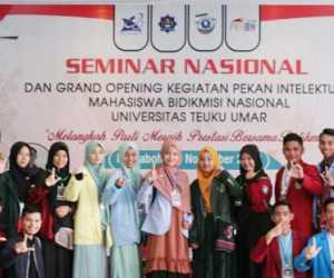 Formadiksi UTU Gelar Pekan Intelektual Mahasiswa Bidikmisi Nasional 2019