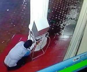 Memalukan! Diduga Oknun PNS Bobol Kotak Amal Mushalla di Abdya