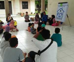 Rumoh Kreatif Adakan Shering Motivasi di SOS Children's Village