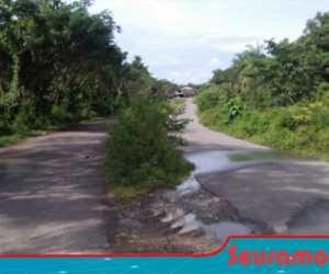 Ada Jalan di Suka Makmue Layaknya Jalan di Desa Kumuh