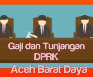 Wow! Gaji dan Tunjangan DPRK Abdya Menyentuh Angka Rp 28 Juta Perbulan