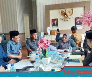 Wakil Ketua Dewan Nagan Raya Terima Aspirasi Anggota Keporasi Bina Usaha
