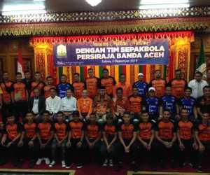 Persiraja Hadapi Liga 1, Plt Gubernur Aceh: Kami Siap Membantu