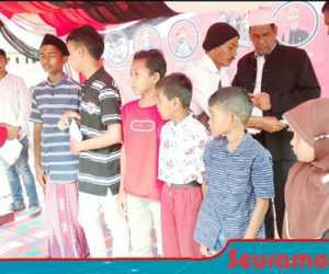 Di Milad GAM ke 43, KPA Nagan Raya Santuni Puluhan Anak Yatim
