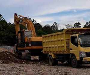 Diduga Tak Kantongi Izin, Galian C di Aceh Jaya Didatangi Tim Gabungan
