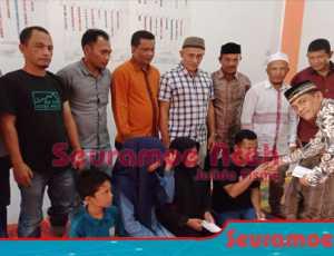 Di Hari Milad ke 8, DPW PNA Abdya Santuni Puluhan Anak Yatim