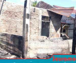 Satu Unit Rumah Warga di Lapang Aceh Barat Terbakar