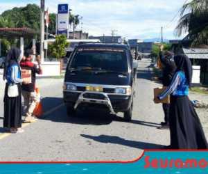 Pemuda Nagan Raya Galang Dana Untuk Dayah Darussalam