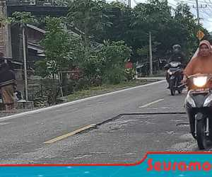 Pengerjaan Tambal Sulam Jalan di Abdya Dikhawatirkan Picu Kecelakaan