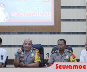 Polres Abdya Tangani 320 Kasus Sepanjang 2019