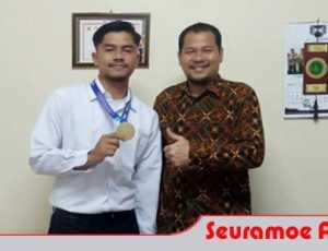 Mahasiswa Unimal Bawa Tim Sepakbola Aceh Raih Juara di Porwil X