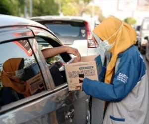 KAMMI Banda Aceh Galang Dana Untuk Korban Banjir Jabodetabek