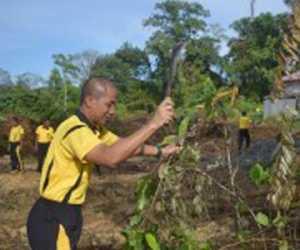 Polri Peduli Penghijauan, Polres Nagan Raya Akan Tanam Seribu Pohon