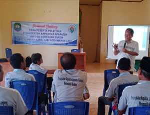 Tingkatkan Kapasitas Aparatur, Gampong Meunasah Sukon Gelar Pelatihan