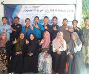 FoSSEI Sososialisasi Qanun Nomor 11 Tahun 2018 di Aceh Barat