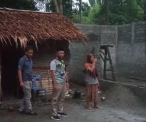 Wabup Abdya Tinjau Pembangunan Rumah Janda Miskin di Manggeng