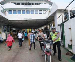 Sejumlah Pengendara Terjaring Razia di Pelabuhan Kolok Sinabang
