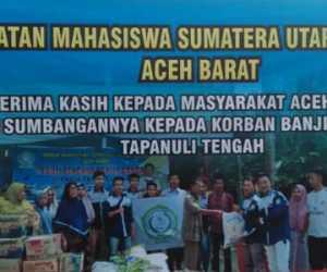 IMSU Aceh Barat, Salurkan bantuan Untuk Korban Banjir