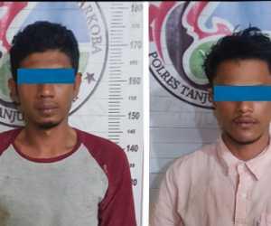 Seludupkan Sabu dari Malaysia, Dua Warga Aceh Ditangkap di Tanjung Balai