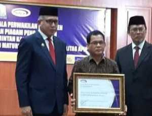 Simeulue Raih Penghargaan Kategori Penyelenggaraan SPIP Level 3