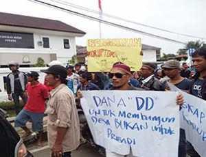 Berkembang Isu, Warga Lewak Simeulue Akan Demo ke Kantor Keuchik