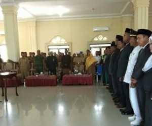 57 Pejabat Eselon III dan IV di Lingkup Pemkab Abdya Dimutasi
