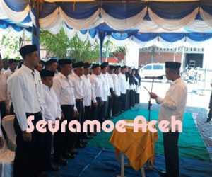 192 Orang Tuha Peut di Kecamatan Seunagan Timur Dilantik
