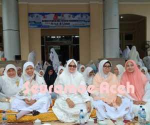 MPTT Barat-Selatan Aceh dan TP-PKK Nagan Raya Gelar Zikir Bersama