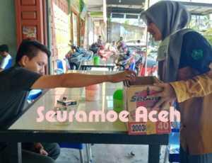 Bantu Korban Kebakaran, LPM STAIN Tengku Dirundeng Galang Dana