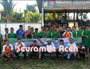 Sepak Bola Antar Dusun Meriahkan HUT ke 49 Pemuda Pasi Aceh