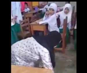 Tak Terima Anaknya Dihukum, Wali Murid Ini Minta Guru Merangkak Keliling Kelas