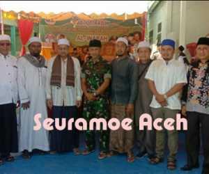 Abuya Mawardi Waly Resmikan Dayah Al-Inabah Gampong Manggie