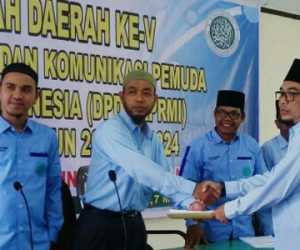 Tgk H. Mawardi Basyah S.Sos Terpilih Jadi Ketua BKPRMI Aceh Barat