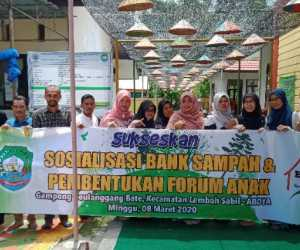 P2TP2A Abdya Bentuk Forum Anak Tingkat Gampong di Geulangang Batee
