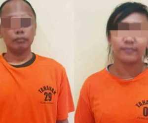 Pasangan Kekasih Berstatus Janda dan Duda Ditangkap Sedang Nyabu di Banda Aceh
