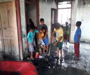 Rumah Janda Korban Konflik di Nagan Raya Terbakar