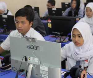 Meski Sekolah Libur, Enam SMK Hari Ini Gelar UNBK di Aceh Jaya