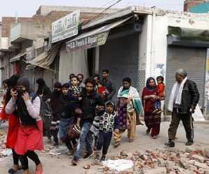 Gerombolan Hindu Delhi Bakar Toko Milik Muslim, Polisi Diam