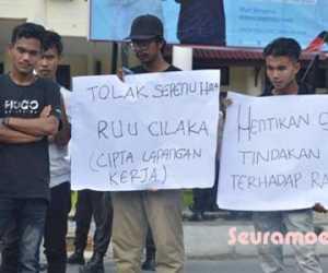 Kembali Mahasiswa di Aceh Barat Turun ke Jalan, Ini Tuntutannya
