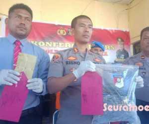 Bawa Lima Ikat Ganja Kering, Seorang Warga Nagan Raya ditangkap