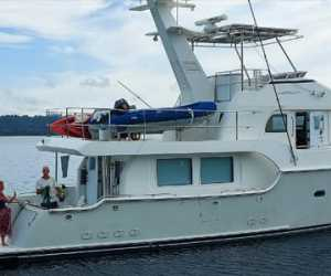Lima Kapal Turis Asing Dihalau Dari Perairan Laut Nagan Raya