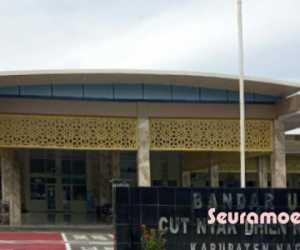 Penumpang Dari dan Menuju Bandara CND Nagan Raya Menurun