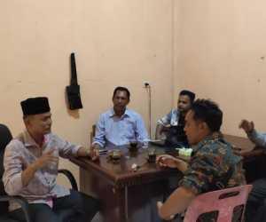 Balon Bupati Abdya, Silaturahmi ke Sektretariat DPD PWA