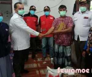 Atasi Kelangkaan Masker, Tim Covid-19 PMI Nagan Raya Jajaki Produksi Lokal