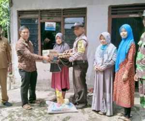 Cegah Covid-19, Gampong Meunasah Teungoh Abdya Salurkan Bantuan Untuk Warga
