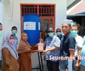UTU Tempatkan Hand Washer di Tempat Umum dan Layanan Publik